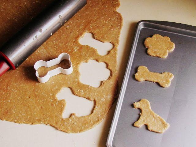 Homemade Dog Treats, Peanut butter and oats