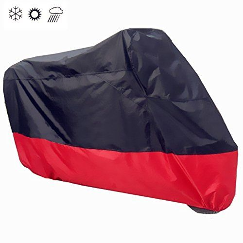 """Tokept Black & Red WATERPROOF UV DUSTPROOF XL Motorcycle cover 96"""" Fit to All Scooter & Mopeds-YAMAHA HONDA SUZUKI KAWASAKI DUCATI BMW Motorcycle cover - http://www.caraccessoriesonlinemarket.com/tokept-black-red-waterproof-uv-dustproof-xl-motorcycle-cover-96-fit-to-all-scooter-mopeds-yamaha-honda-suzuki-kawasaki-ducati-bmw-motorcycle-cover/  #Black, #Cover, #Ducati, #Dustproof, #Honda, #Kawasaki, #MopedsYAMAHA, #Motorcycle, #Scooter, #Suzuki, #Tokept, #WaterProof #"""