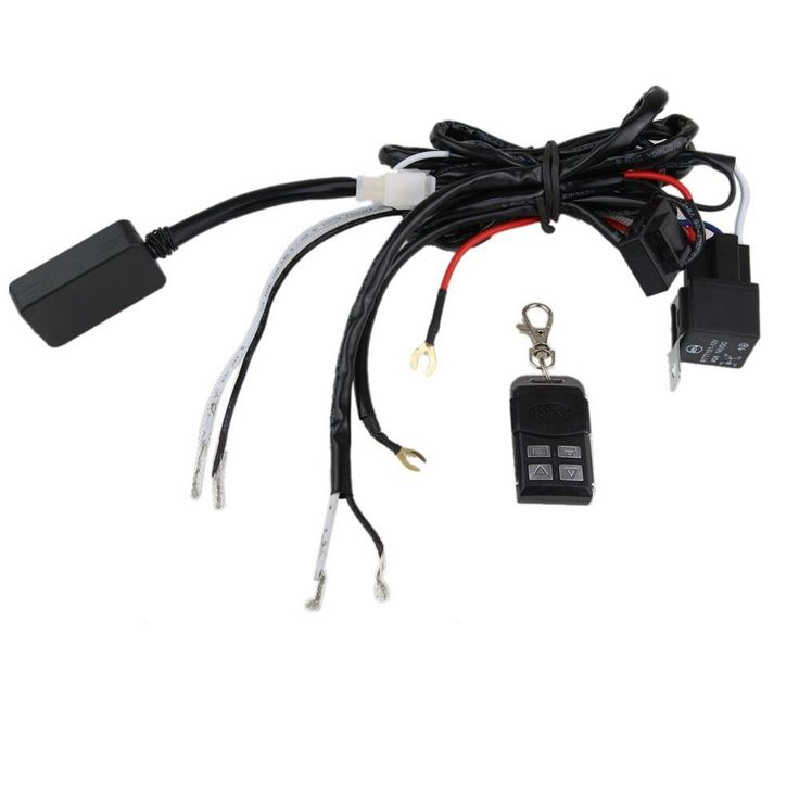 cffca2f9d0f82d8b8fa5200f31f77ff0 led light bars 66 best worth buying images on pinterest jeep parts, jeep Off-Road Light Wiring Harness at n-0.co