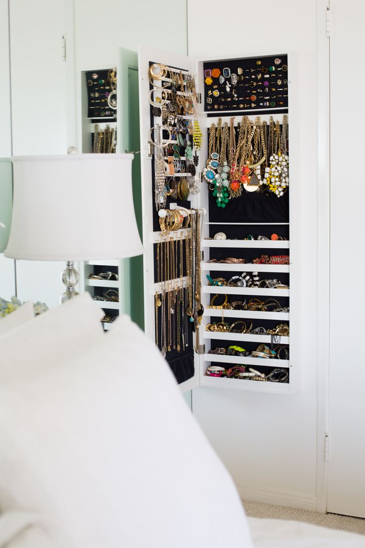 The Every Girl - closets - hidden cabinet, hidden jewelry cabinet,  concealed cabinet, concealed jewelry cabinet, pull out jewelry