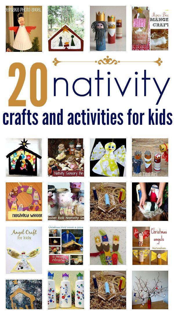 Sunday School Christmas Craft Ideas Part - 26: Nativity Crafts For Preschool