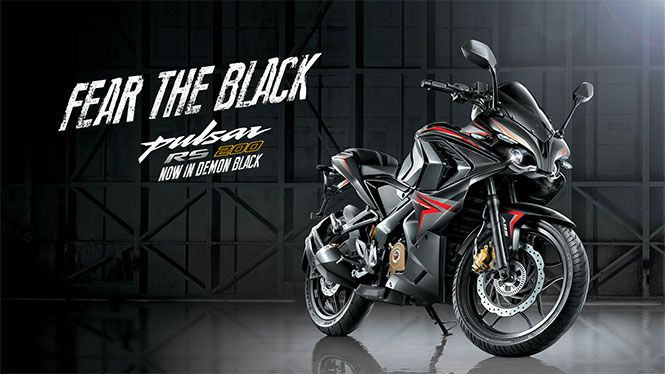 India's largest two-wheeler maker, Bajaj Auto, has launched RS 200 'Fear The Black' Edition in Indian two-wheeler market.
