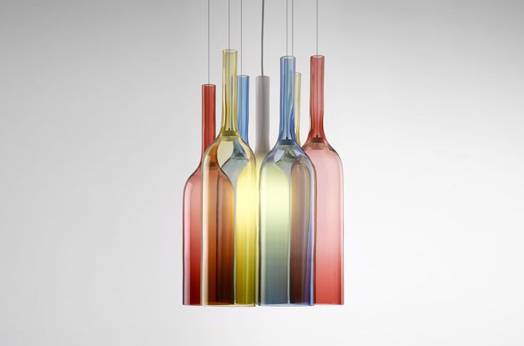 Top 10: Arik Levy's feeling for design | Jar RGB Lamp, Lasvit, 2013 |