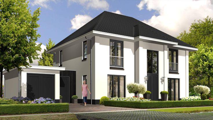 17 beste idee n over witte buitenkant huizen op pinterest buitenkanten van huizen huis - Decoratie exterieur gevel ...
