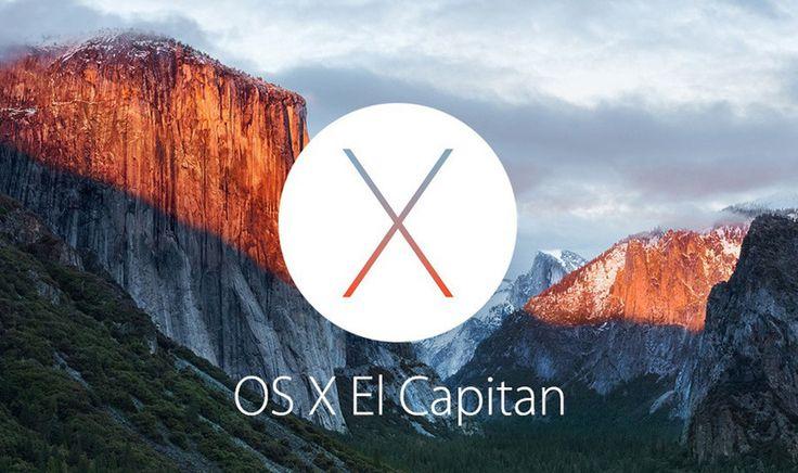 APPLE UNVEILS OS X EL CAPITAN