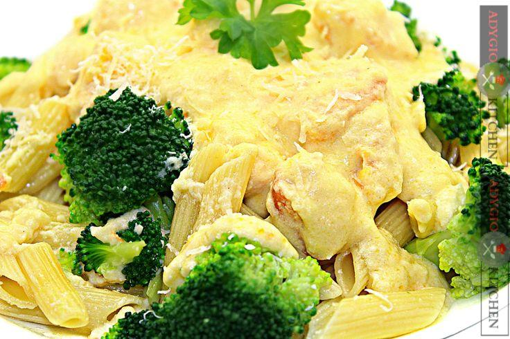 Paste cu pui si brocoli - Adygio Kitchen #adygio #aperitive #paste