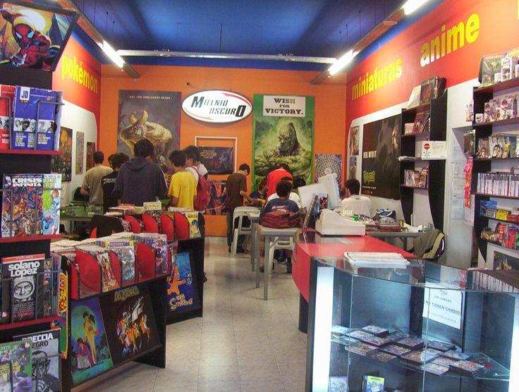Milenio Oscuro Comics, Necochea, Argentina Local de comics y videojuegos. https://www.facebook.com/MilenioOscuroComics
