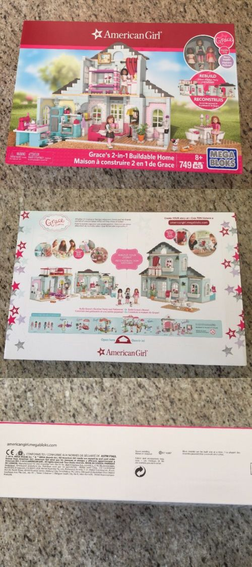Blocks 18992: American Girl Mega Block Grace S 2-In-1 Buildable Home Lego Nwt Dolls -> BUY IT NOW ONLY: $48.5 on eBay!