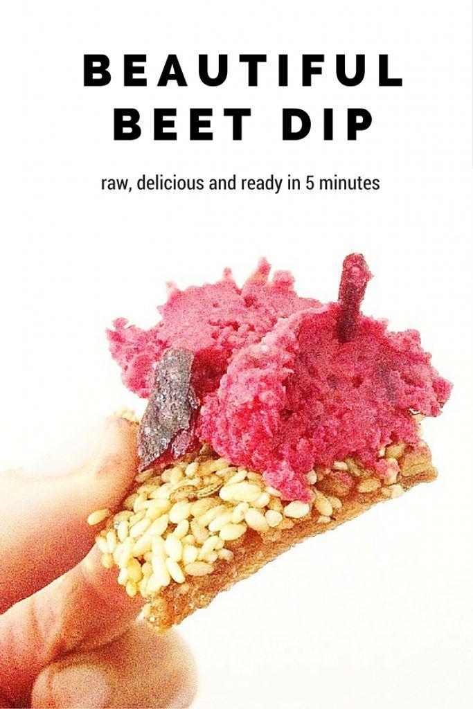 beautiful-raw-beetroot-dip