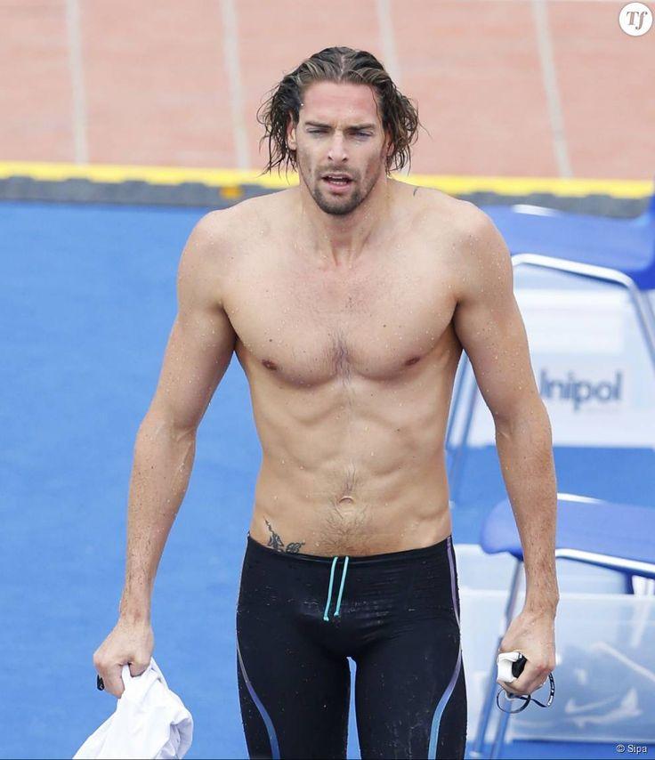 Camille Lacourt à la 52e édition du Trofeo Settecolli International Swimming Competition à Rome, en Italie