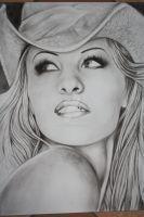 Pamela Anderson by ThessaGreenleaf