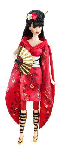 Barbie Collector - V5004 - Poupée Mannequin - Barbie Tenue Japonaise Barbie http://www.amazon.fr/dp/B0042ESFCU/ref=cm_sw_r_pi_dp_Bcbuub0J98EB9