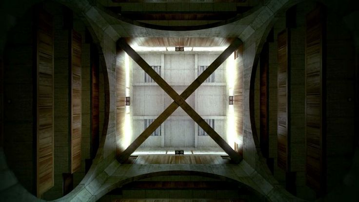 """Kahn's Exeter Short Film. CG Shortfilm about Louis Kahn's Phillips Exeter Academy Library.  Footage from """"The Third & The Seventh"""" project f..."""