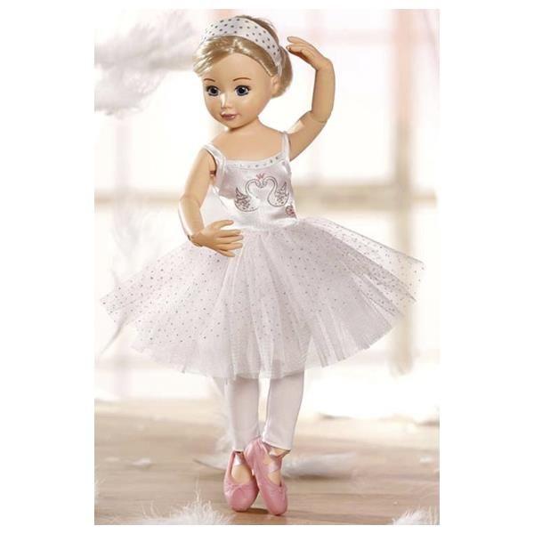 Платье для балерины на куклу