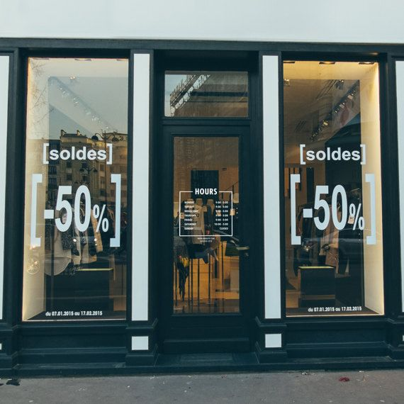 Yli Tuhat Ideaa Business Hours Sign Pinterestissä - Window decals for business hours