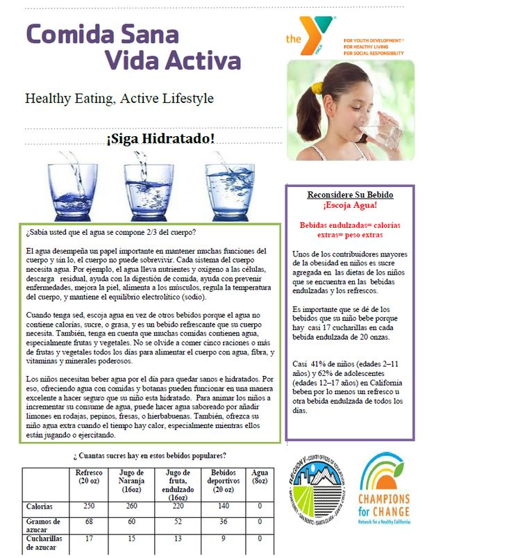 May Parent Newsletter p.1 in Spanish. For original copy email noora.mousa@ymcasv.org
