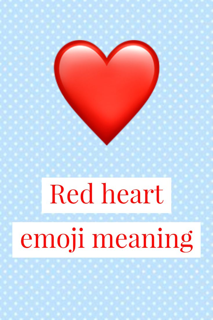 Heart what blue does emoji mean the 💙Blue Heart