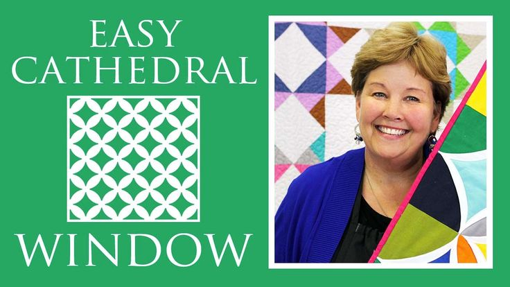 Easy Cathedral Window Quilt: Simple Quilting Tutorial with Jenny Doan of...