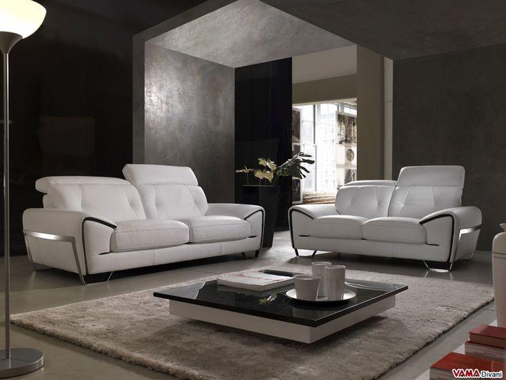 Oltre 25 fantastiche idee su divani bianchi su pinterest - Divani da salotto ...