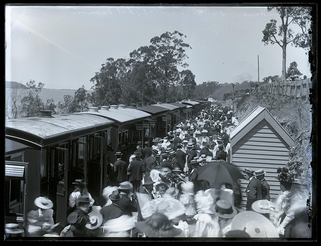 Toronto Railway Station, NSW, 6 October 1898