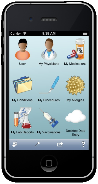Say goodbye to the filing cabinets! Conveniently store your family's medical history on your iPhone or iPad.  This app tracks information for up to 12 people!