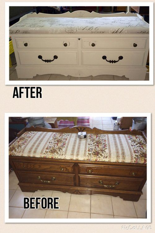 44 Best Cedar Chest Redo Images On Pinterest Coffer
