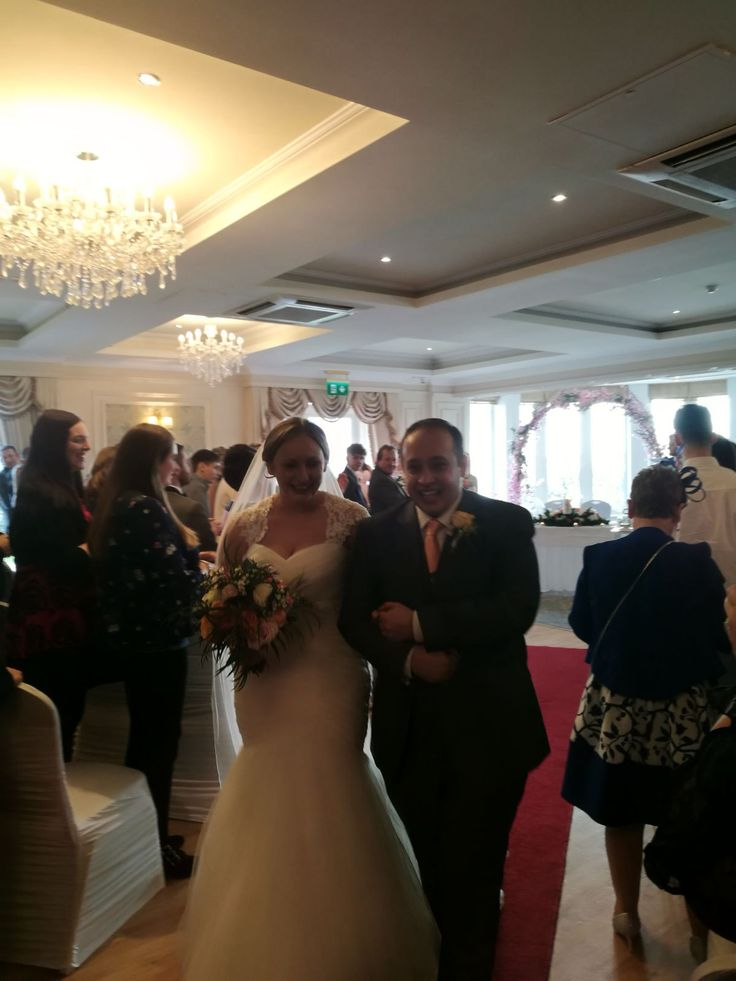 Donna & Cormac Humanist wedding by Joe Armstrong at Crover House Hotel, 17 February 2018.