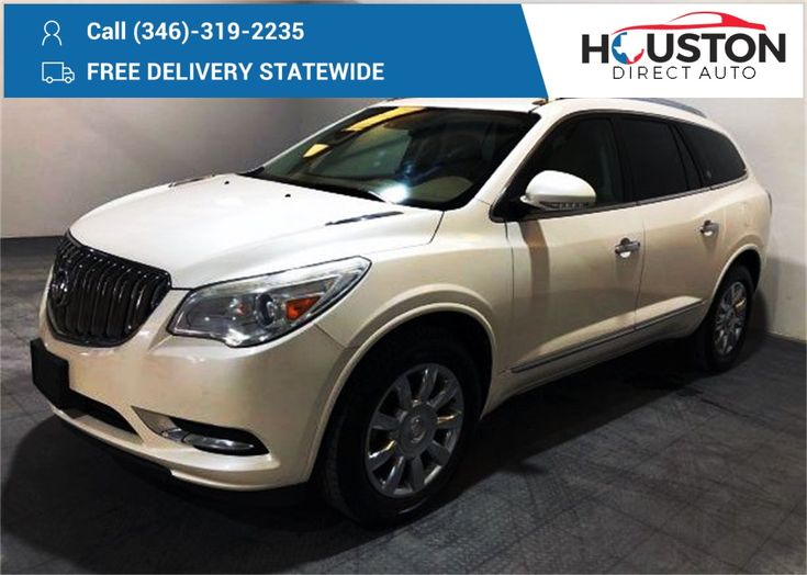 2014 Buick Enclave For Sale Stock 290566 Mileage 78059 Price 15591 Color White Diamond Tricoat We Finance Call 281 Buick Enclave Acura Cars Cars For Sale