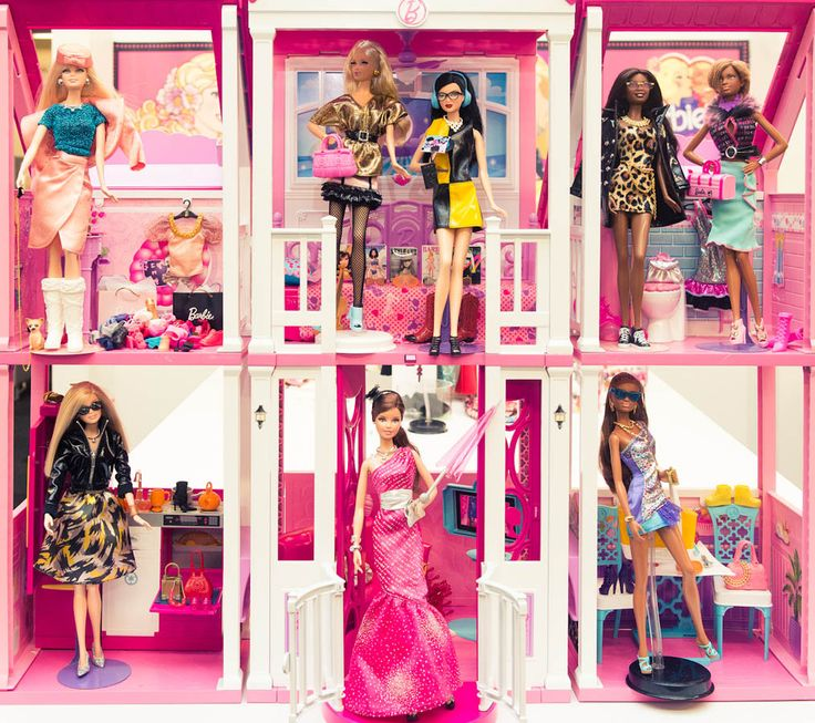 Welcome to the Dreamhouse. http://www.thecoveteur.com/barbie (cc: @Barbie)