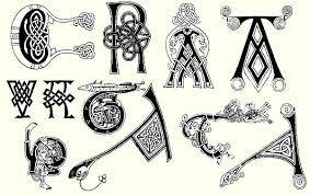 Картинки по запросу кельтский алфавит буквы