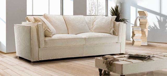 Elegant Canape Blanc 3 Places Meubles Sur Mesure Canapes Blancs Meuble Chene