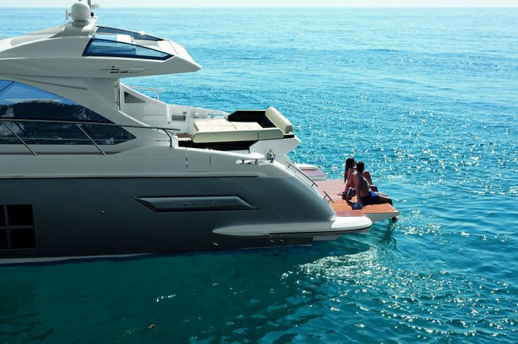 The Azimut 55S, featured in Robb Report's January 2013 issue.