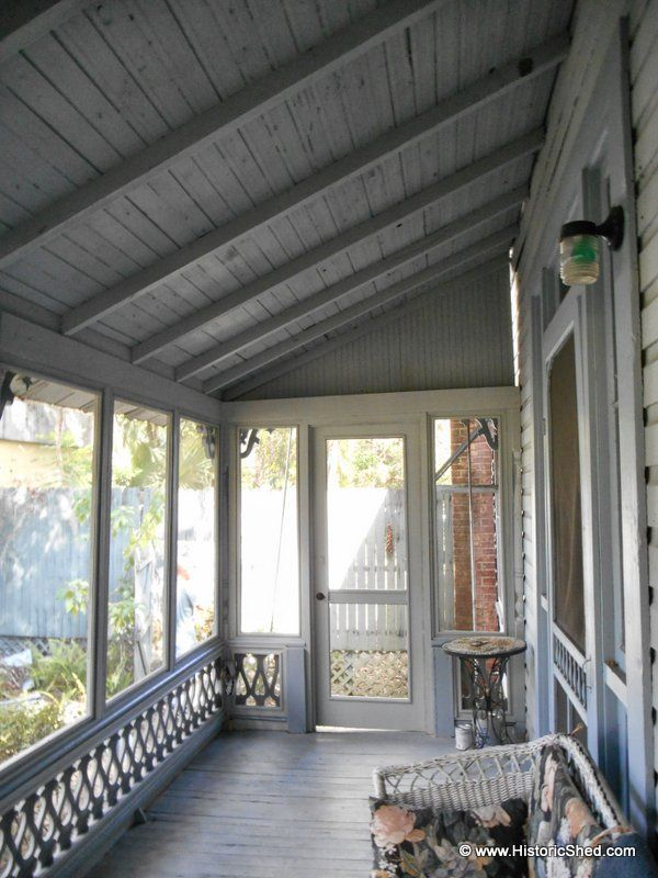 Folk Victorian Porch Enclosure :: Hometalk