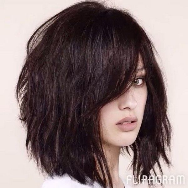 53 New Hairstyles For Round Faces That Ll Trend In 2021 Hair Styles Haircut For Thick Hair Thick Hair Styles