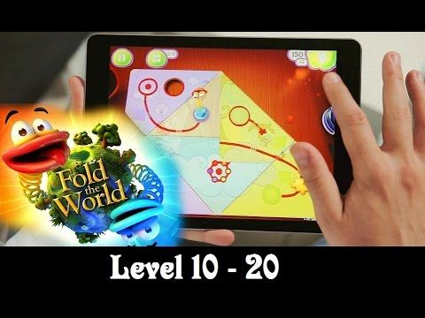 FOLD THE WORLD Level 10 - 20 Walkthrough (10, 11, 12, 13, 14, 15, 16, 17...