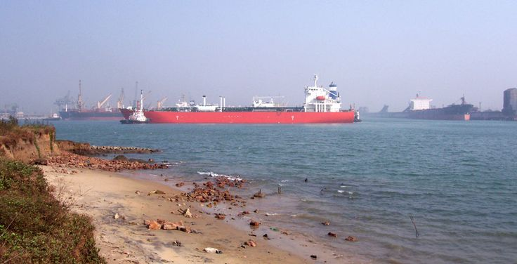Paradip Port -  is an artificial, deep-water port on the East coast of India in Jagatsinghpur district of Odisha.