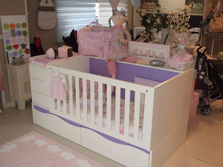 Mejores 40 imágenes de Cunas y habitaciones infantiles en Pinterest ...