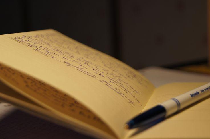 다이어리와 펜 #diary / Your Lifetime Gallery ::: www.cubbying.com
