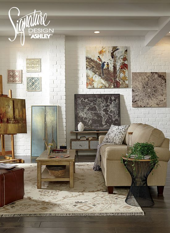 Wall Art Home Accessories Ashley Furniture Ashleyfurniture Décor Pinterest And