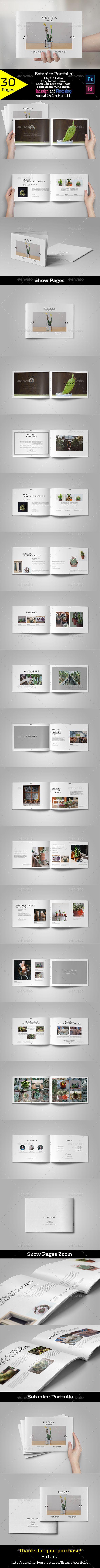 Botanice Portfolio - Portfolio Brochures