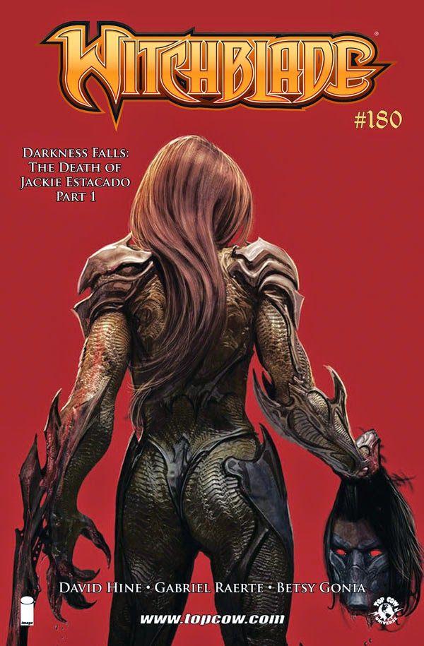 Witchblade 180 Darkness Falls The Death Of Jackie Estacado Comics Devilcomics