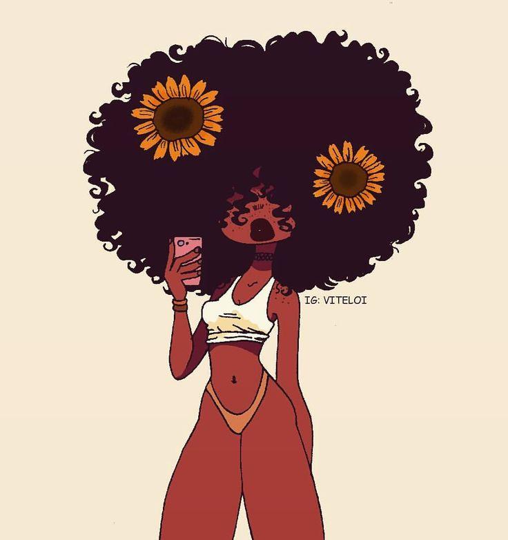 383 best black girl art images on Pinterest | Black women