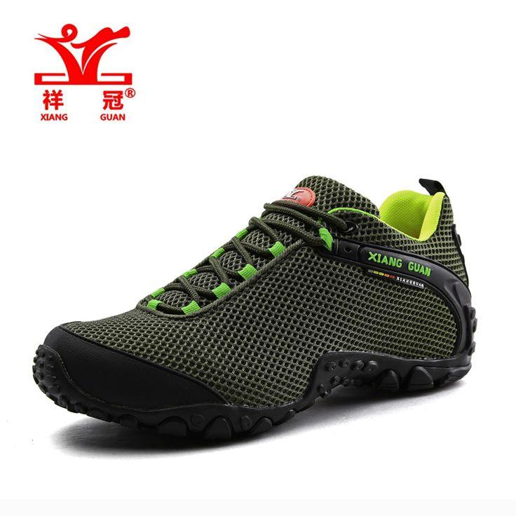 Famosa Marca Mens Sports Caminhadas Ao Ar Livre Sapatos de Trekking Tênis Para Os Homens Do Exército Verde Respirável Sapatos de Escalada de Montanha Homem em Tênis para caminhada de Sports & Entretenimento no AliExpress.com | Alibaba Group
