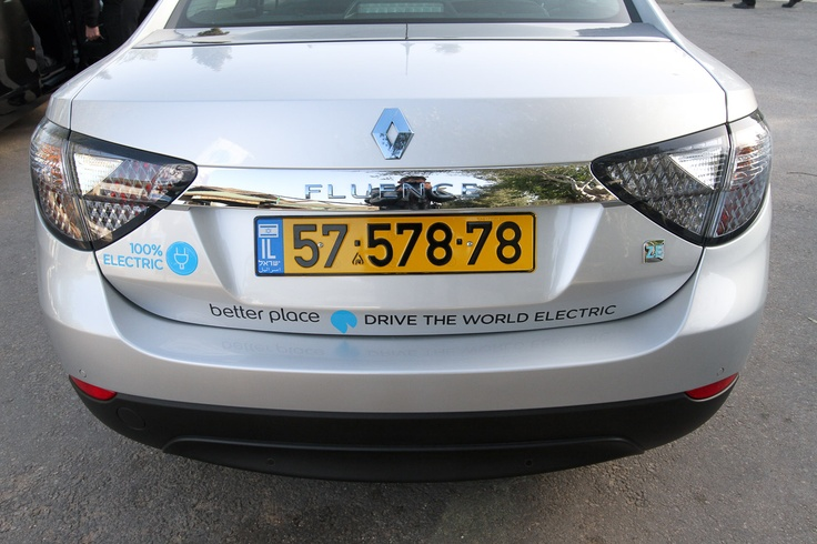 Renault Fluence ZE, the world's first switchable battery electric car