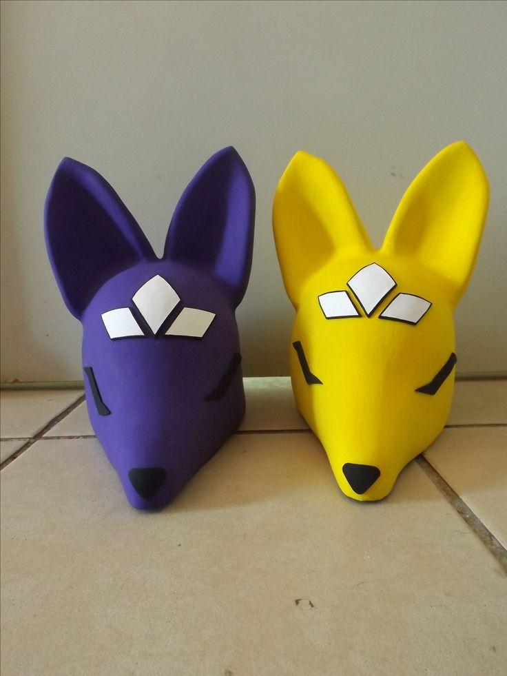 Sakuyamon  & Kuzuhamon Helmets.