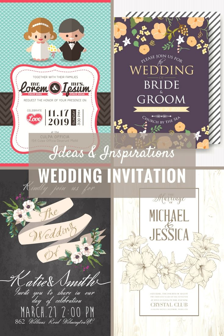 Cost free Wedding Invitation Cards Examples Get