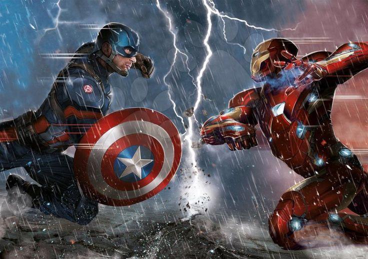 EDUCA Puzzle Captain America: Občanská válka 1000 dílků