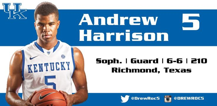 Andrew Harrison #CollegeBasketball