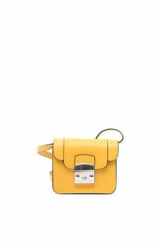 Prezzi e Sconti: #Borsetta a tracolla in pelle Giallo  ad Euro 68.00 in #Dylan #Borse e accessori borse