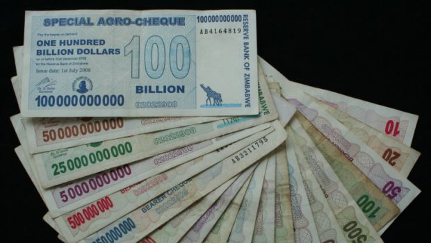 Zimbábue Moedas Dólares
